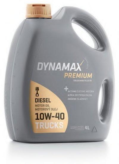 Моторное масло; Моторное масло DYNAMAX PREMIUM TRUCKMAN PLUS FE 10W-40 DYNAMAX купить