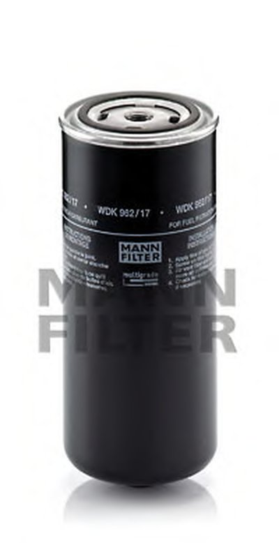 WDK96217 MANN-FILTER Топливный фильтр