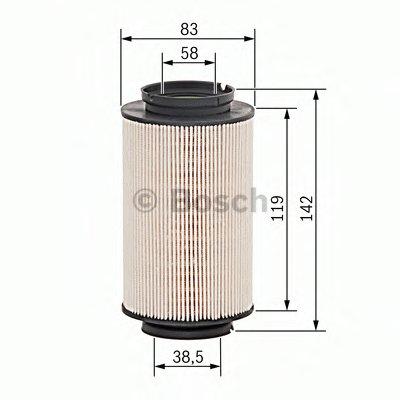 1457431715 BOSCH Топливный фильтр