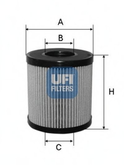 Масляный фильтр UFI купить