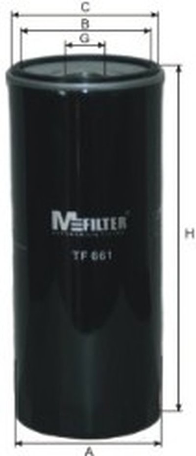 TF661 MFILTER Масляный фильтр