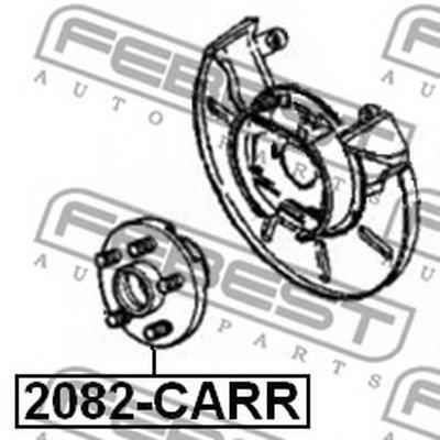 Ступица Задняя FEBEST 2082CARR для авто CHRYSLER с доставкой-1