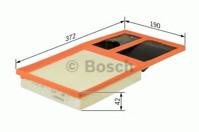 F026400035 BOSCH Воздушный фильтр