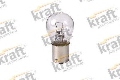 Лампа накаливания, фонарь указателя поворота; Лампа накаливания, основная фара; Лампа накаливания, фонарь сигнала тормож./ задний габ. огонь; Лампа накаливания, фонарь сигнала торможения; Лампа накаливания, фонарь освещения номерного знака; Лампа накаливания, задняя противотуманная фара; Лампа накаливания, фара заднего хода; Лампа накаливания, задн KRAFT AUTOMOTIVE купить