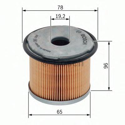1457431720 BOSCH Топливный фильтр