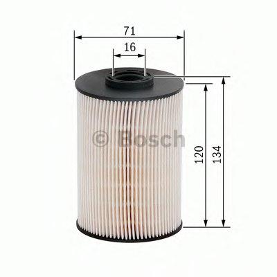 F026402101 BOSCH Топливный фильтр