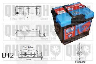 Стартерная аккумуляторная батарея PowerBox 3 QUINTON HAZELL купить