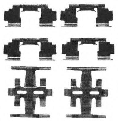 Комплектующие, колодки дискового тормоза PREMIER FERODO купить