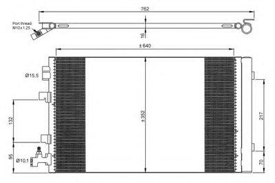 Радиатор Кондиционера NRF 35932 для авто RENAULT с доставкой