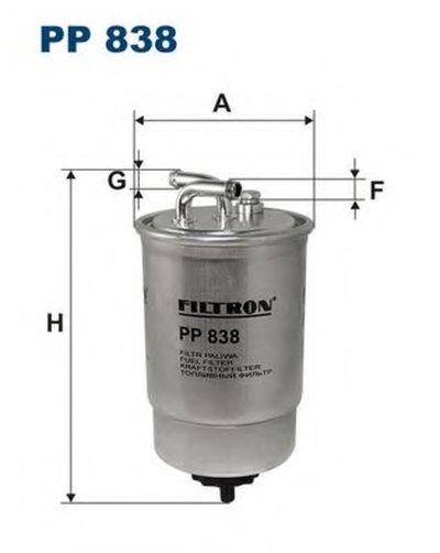 PP838 FILTRON Топливный фильтр