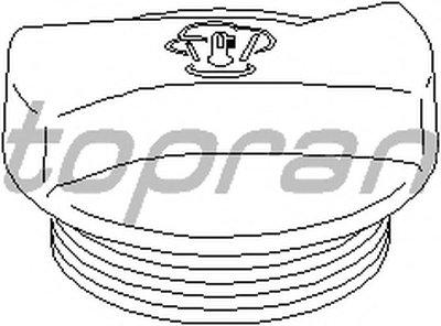 Крышка, резервуар охлаждающей жидкости TOPRAN купить