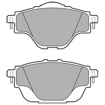 Колодки Задние Citroen C4 Picasso Ii DELPHI LP2509 для авто CITROËN, PEUGEOT с доставкой