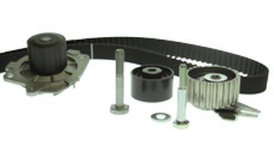 Комплект ГРМ (+помпа) (ролик пласт.PDI3695) Doblo 1.9D/JTD 0