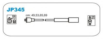 Jm-Jp345_К-Кт Проводов! Mazda 323 1.31.4 16V 94 JANMOR JP345 для авто MAZDA с доставкой