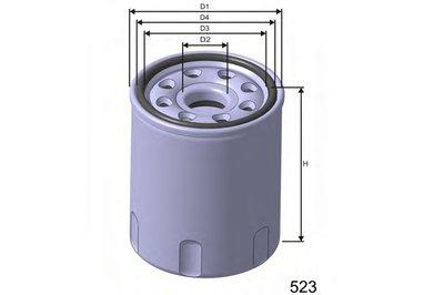 Z265 MISFAT Масляный фильтр