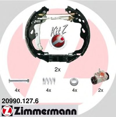 Комплект тормозных колодок KIT Z ZIMMERMANN купить