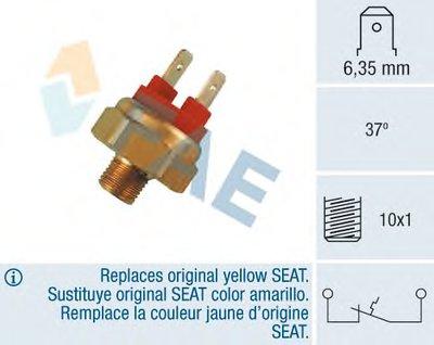 Термовыключатель, Авт. устр. для обогащения горючей смеси; термовыключатель, сигнальная лампа охлаждающей жидкости FAE 35420 для авто AUDI, SEAT, VW с доставкой