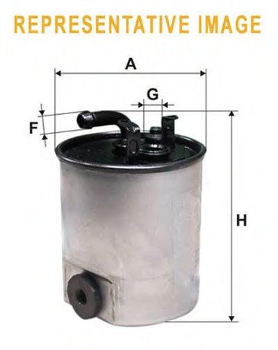 WF8430 WIX FILTERS Топливный фильтр