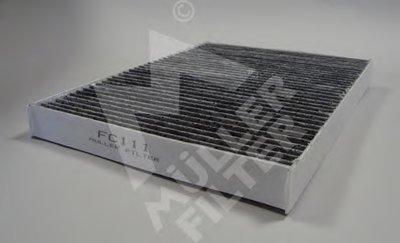 FC111 MULLER FILTER Фильтр, воздух во внутренном пространстве