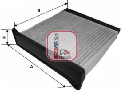 S4220CA SOFIMA Фильтр, воздух во внутренном пространстве