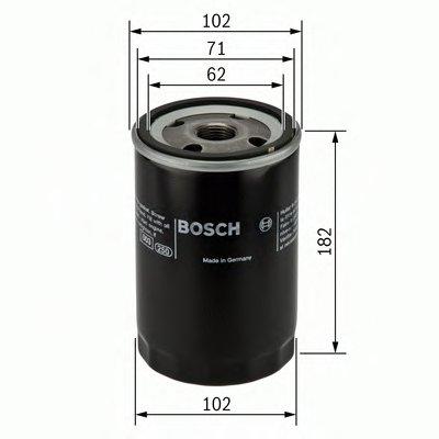 0451302182 BOSCH Масляный фильтр