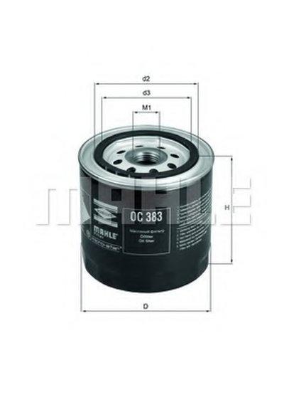 OC383 KNECHT Масляный фильтр