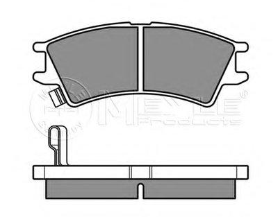 Комплект тормозных колодок-2