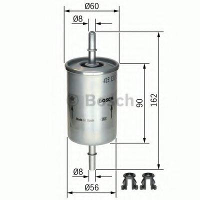 0450905273 BOSCH Топливный фильтр -1
