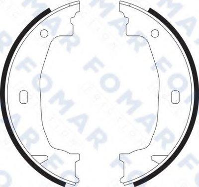 Комплект тормозных колодок, стояночная тормозная система FOMAR Friction купить