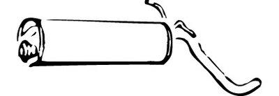 Глушитель выхлопных газов конечный WALKER купить
