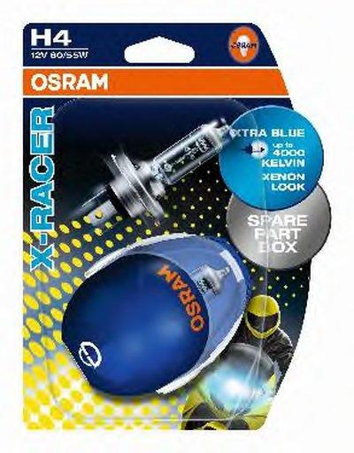Лампа накаливания, фара дальнего света; Лампа накаливания, основная фара; Лампа накаливания, противотуманная фара; Лампа накаливания, основная фара; Лампа накаливания, фара дальнего света; Лампа накаливания, противотуманная фара X-RACER® OSRAM купить