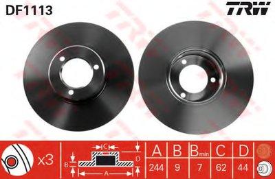 Тормозной диск TRW купить