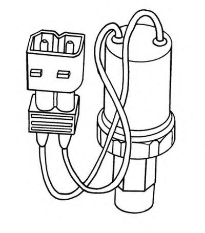 Пневматический выключатель, кондиционер NRF купить