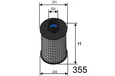 F116 MISFAT Топливный фильтр
