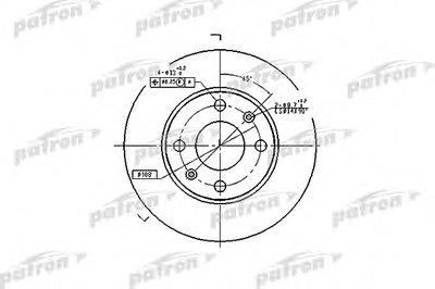 Тормозной диск PATRON купить