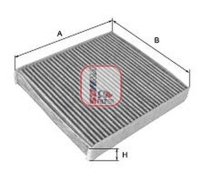 Фильтр, воздух во внутренном пространстве SOFIMA купить