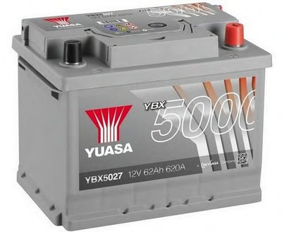 Стартерная аккумуляторная батарея YBX5000 Silver High Performance SMF Batteries YUASA купить