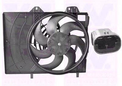 Вентилятор, охлаждение двигателя VAN WEZEL купить