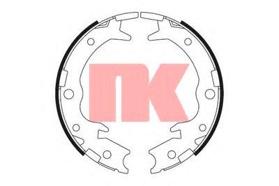 Комплект тормозных колодок, стояночная тормозная система NK купить
