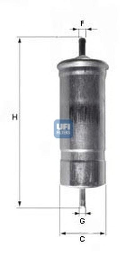 Топливный фильтр UFI купить
