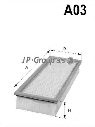 Воздушный фильтр QH JP GROUP купить