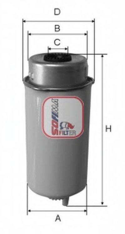 Топливный фильтр SOFIMA купить