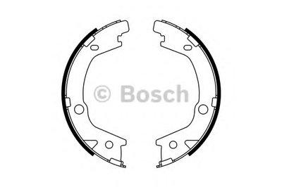 Тормозные колодки барабан (пр-во Bosch)