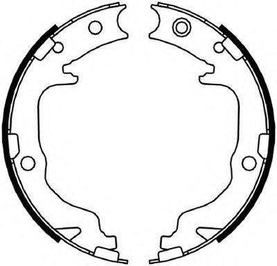 Комплект тормозных колодок, стояночная тормозная система PREMIER FERODO купить
