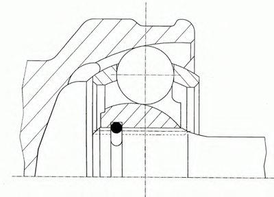 Шарнирный комплект-1