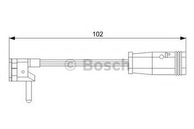 BOSCH 1987473019 Датчик износа тормозных колодок