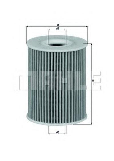 OX3553D KNECHT Масляный фильтр