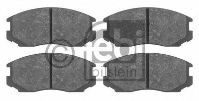16325 FEBI BILSTEIN Комплект тормозных колодок, дисковый тормоз