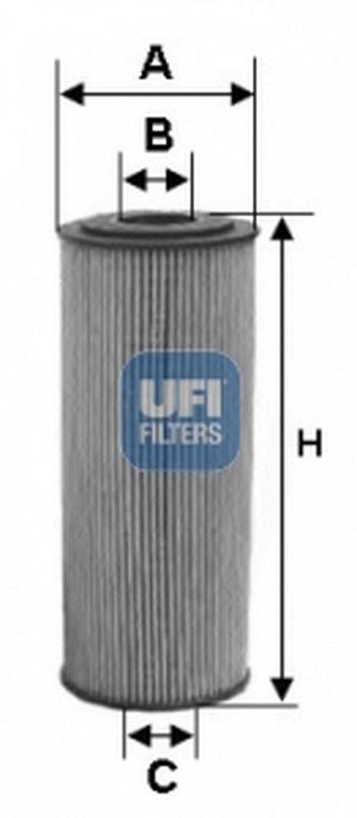 2515500 UFI Масляный фильтр