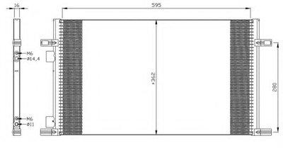 Конденсатор, кондиционер NRF 35298 для авто RENAULT с доставкой